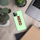 Nerd iPhone Case - Marching Arts Merchandise -  - Marching Arts Merchandise - Marching Arts Merchandise - band percussion color guard clothing accessories home goods