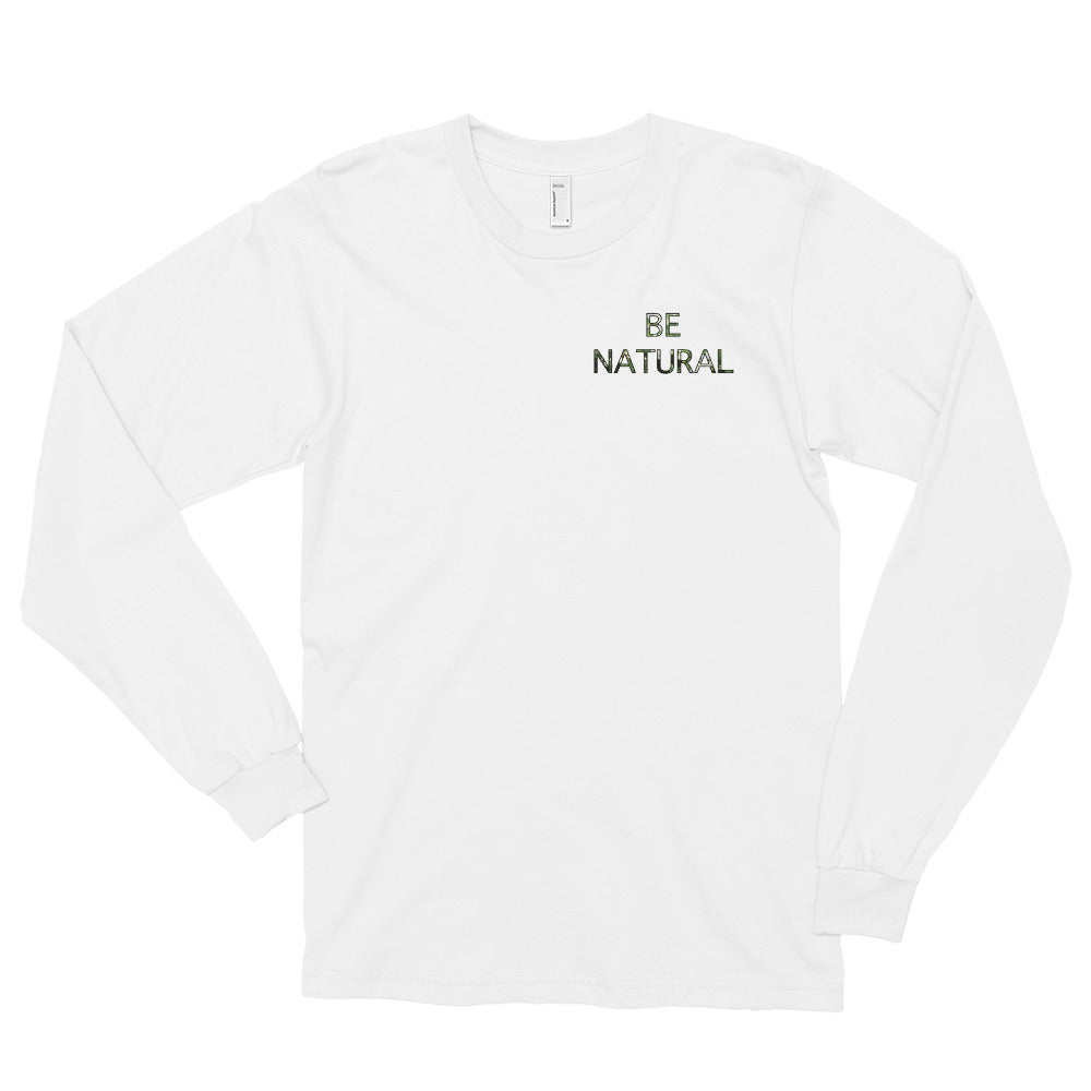 B Natural Unisex Marching Band Long Sleeve Shirt-Long Sleeve Shirt-Marching Arts Merchandise-Marching Arts Merchandise