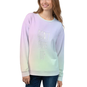 Don't Give Up Marching Band Unisex Sweatshirt-Sweatshirt-Marching Arts Merchandise-Marching Arts Merchandise