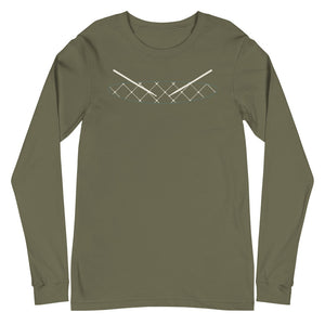 Subtle Snare Percussion Unisex Long Sleeve Tee-Marching Arts Merchandise-Military Green-XS-Marching Arts Merchandise