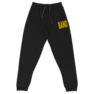 Texture Band Embroidered Unisex Joggers-Marching Arts Merchandise-Marching Arts Merchandise