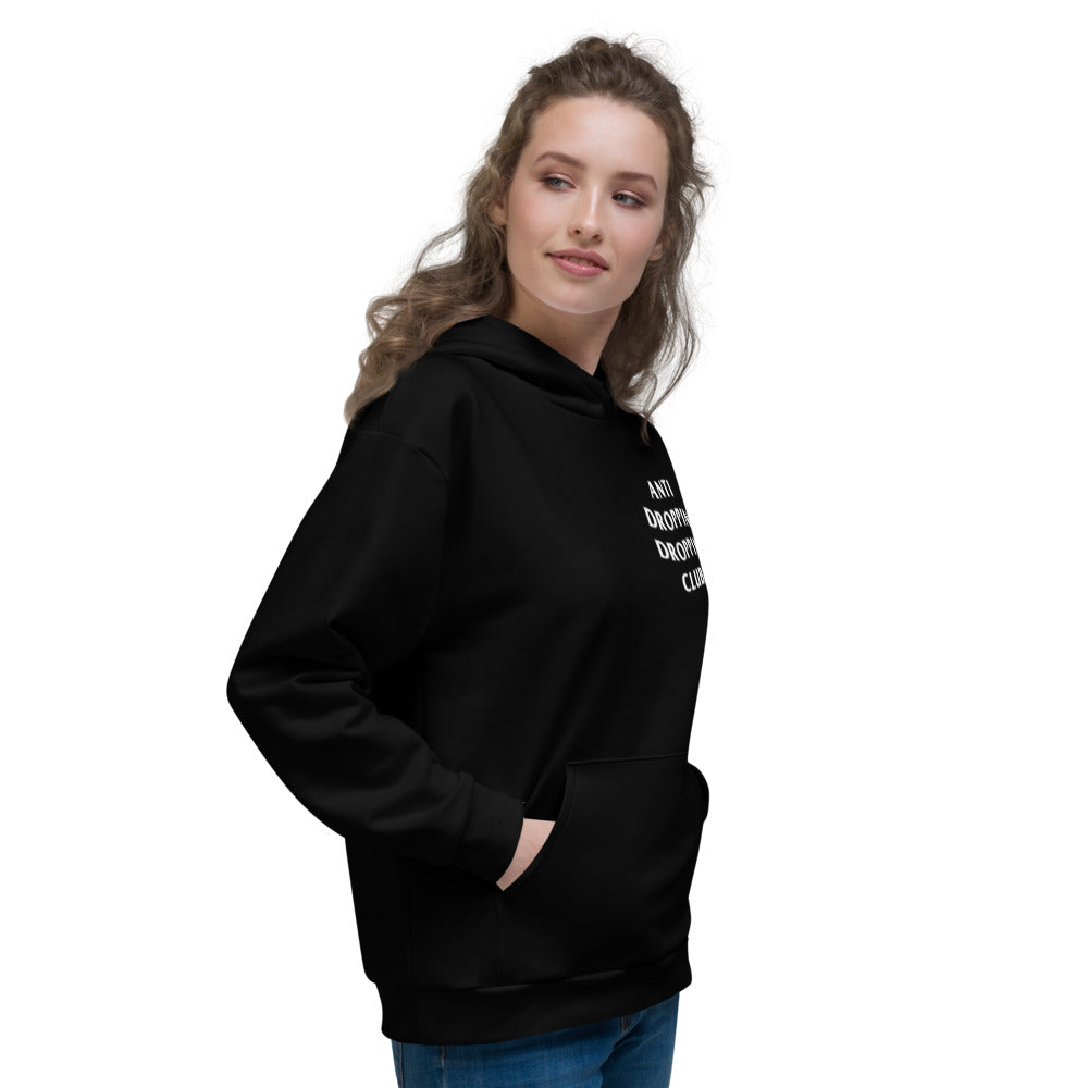 Anti Dropping Dropping Club Unisex Hoodie - Marching Arts Merchandise
