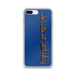 One More Time iPhone Case-Marching Arts Merchandise-iPhone 7 Plus/8 Plus-Marching Arts Merchandise
