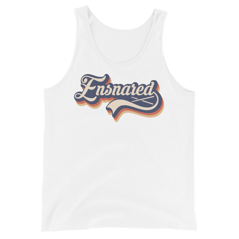 Ensnared Percussion Unisex Tank Top-Marching Arts Merchandise-White-XS-Marching Arts Merchandise