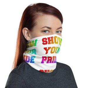 Show Your Pride Neck Gaiter-Marching Arts Merchandise-Marching Arts Merchandise