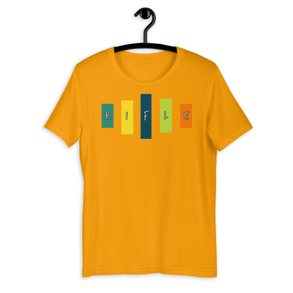 Retro Rifle Short-Sleeve Unisex T-Shirt-Marching Arts Merchandise-Marching Arts Merchandise