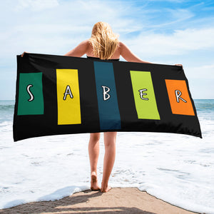 Retro Saber Towel-Marching Arts Merchandise-Marching Arts Merchandise