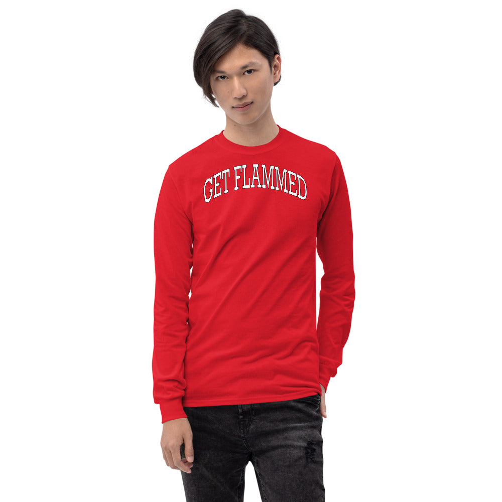 Get Flammed Long Sleeve Shirt-Marching Arts Merchandise-Marching Arts Merchandise
