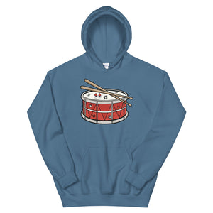 Angry Snare Percussion Unisex Hoodie-Marching Arts Merchandise-Indigo Blue-S-Marching Arts Merchandise