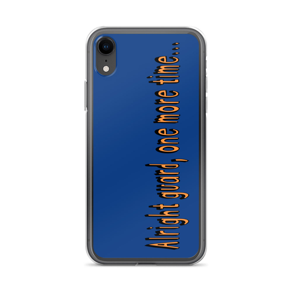 One More Time iPhone Case-Marching Arts Merchandise-iPhone XR-Marching Arts Merchandise