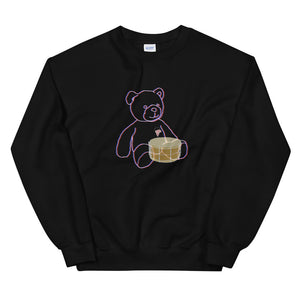 Neon Teddy Snare Percussion Unisex Sweatshirt-Marching Arts Merchandise-Black-S-Marching Arts Merchandise