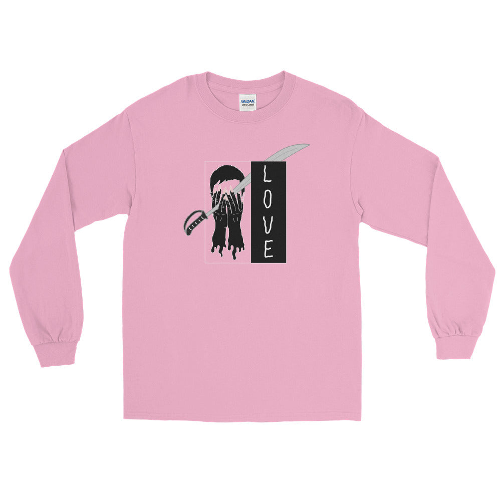 Saber Love Color Guard Long Sleeve Shirt-Marching Arts Merchandise-Light Pink-S-Marching Arts Merchandise