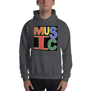 Retro Music Unisex Hoodie-Marching Arts Merchandise-Marching Arts Merchandise