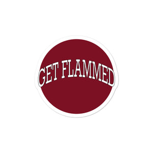 Get Flammed Bubble-Free Stickers-Marching Arts Merchandise-3x3-Marching Arts Merchandise
