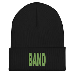 Block Band Marching Band Cuffed Beanie-Beanie-Marching Arts Merchandise-Black-Marching Arts Merchandise