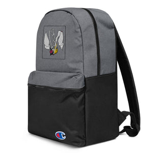 Color Guard Fire Embroidered Champion Backpack-Marching Arts Merchandise-Marching Arts Merchandise
