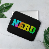 Nerd Laptop Sleeve - Marching Arts Merchandise -  - Marching Arts Merchandise - Marching Arts Merchandise - band percussion color guard clothing accessories home goods