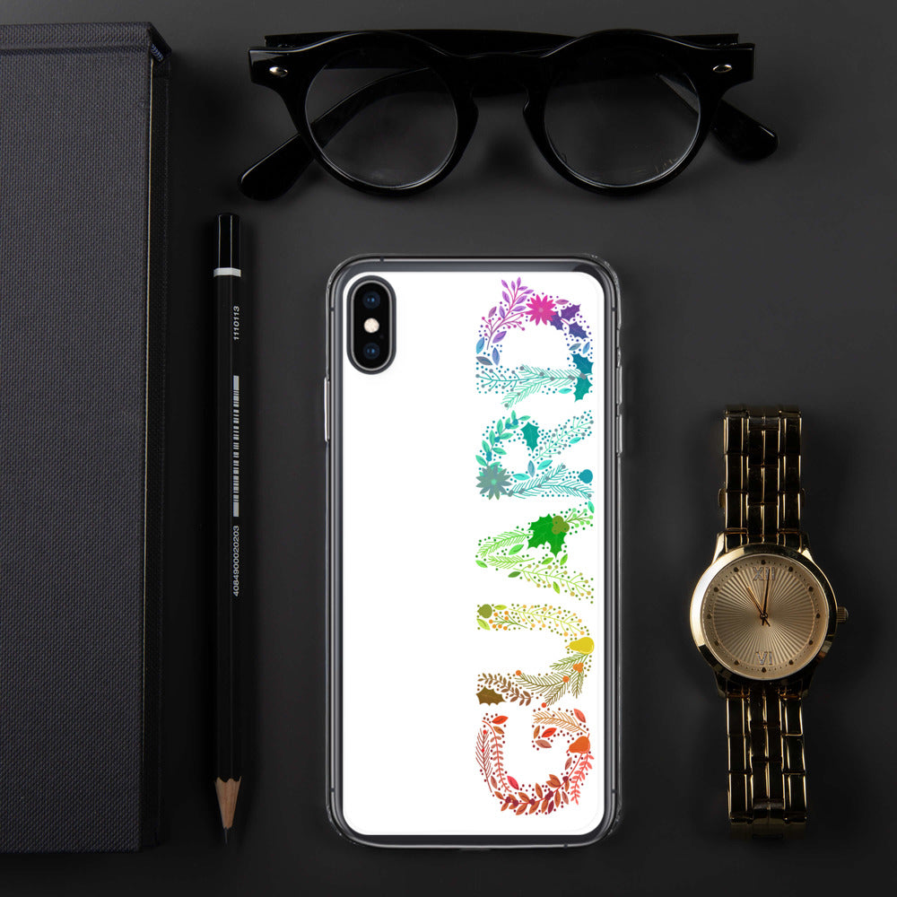 Floral Guard Color Guard Pride Phone Case-Phone Case-Marching Arts Merchandise-iPhone XS Max-Marching Arts Merchandise