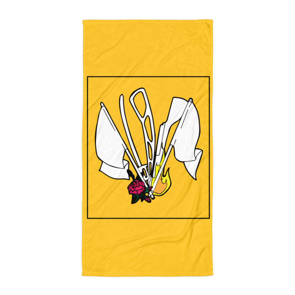 Color Guard Fire Towel-Marching Arts Merchandise-Marching Arts Merchandise
