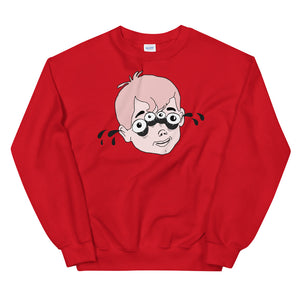 Four Eyed Tenor Percussion Unisex Sweatshirt-Marching Arts Merchandise-Red-S-Marching Arts Merchandise