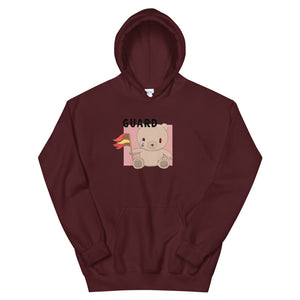 Teddy Flag Color Guard Unisex Hoodie-Marching Arts Merchandise-Maroon-S-Marching Arts Merchandise