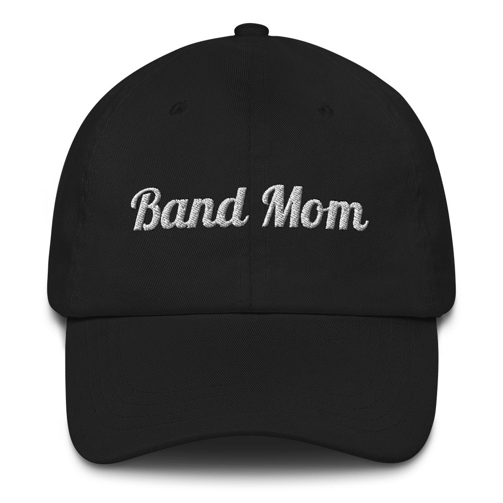 Band Mom Band Parent Baseball Hat-Hat-Marching Arts Merchandise-Marching Arts Merchandise