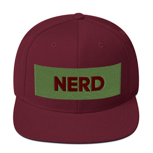 Nerd Snapback Hat-Marching Arts Merchandise-Marching Arts Merchandise