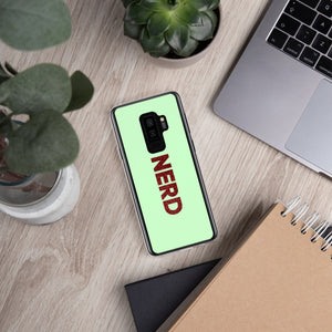 Nerd Samsung Case-Marching Arts Merchandise-Samsung Galaxy S9+-Marching Arts Merchandise