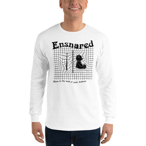 Teddy Snare Men's Long Sleeve Shirt-Marching Arts Merchandise-Marching Arts Merchandise
