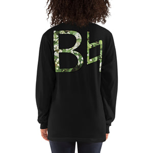 B Natural Unisex Marching Band Long Sleeve Shirt-Long Sleeve Shirt-Marching Arts Merchandise-Black-S-Marching Arts Merchandise