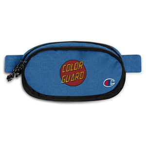 Color Cruz Champion Fanny Pack-Marching Arts Merchandise-Heather Royal/Black-Marching Arts Merchandise