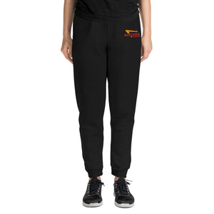 Marching Burgers Embroidered Unisex Joggers-Marching Arts Merchandise-Marching Arts Merchandise