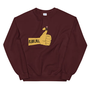 RLRR Flower Percussion Unisex Sweatshirt-Marching Arts Merchandise-Maroon-S-Marching Arts Merchandise