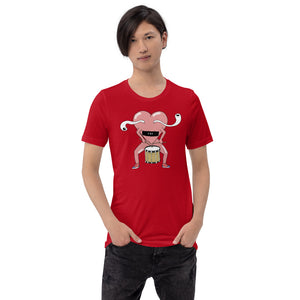 Love Snare Percussion Short-Sleeve Unisex T-Shirt-Marching Arts Merchandise-Marching Arts Merchandise