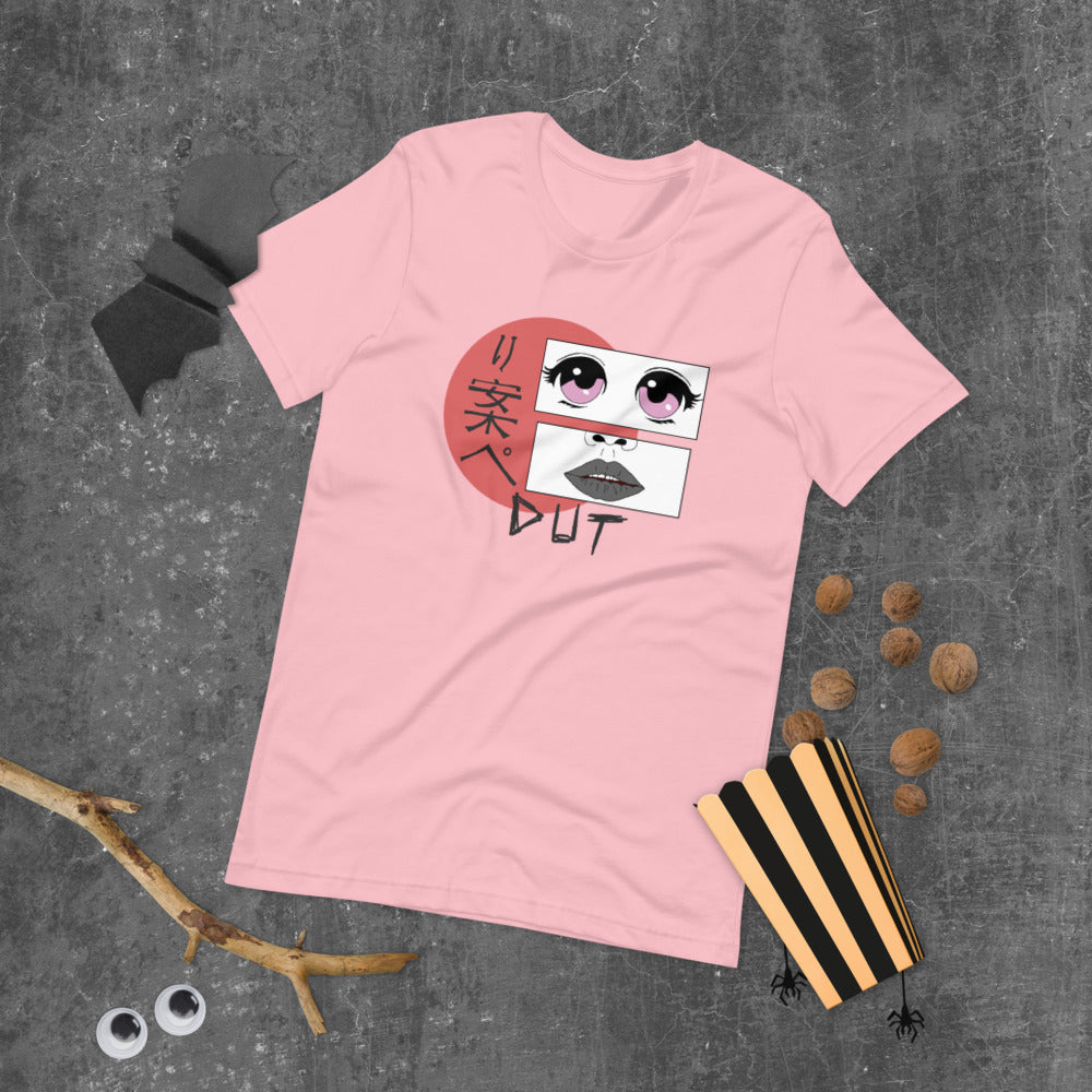 Anime Dut Percussion Short-Sleeve Unisex T-Shirt-Marching Arts Merchandise-Marching Arts Merchandise