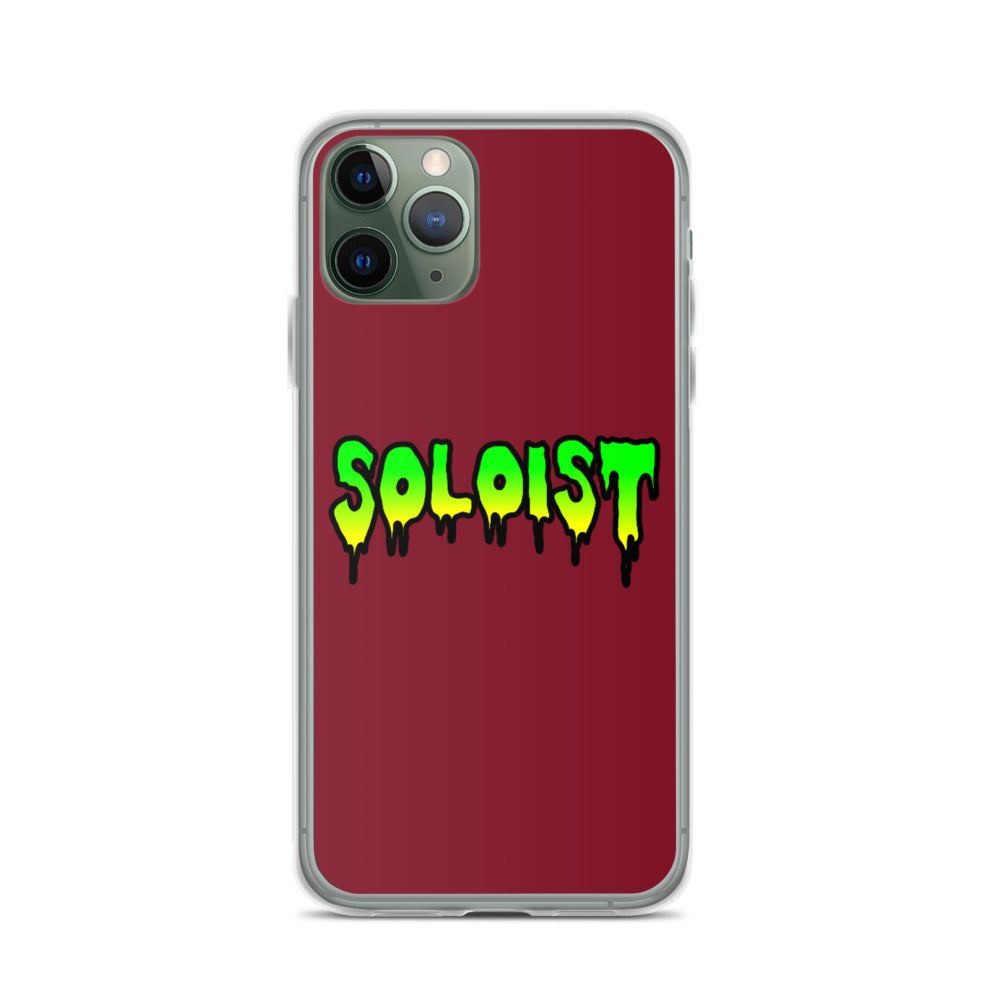 Soloist iPhone Case-Marching Arts Merchandise-iPhone 11 Pro-Marching Arts Merchandise
