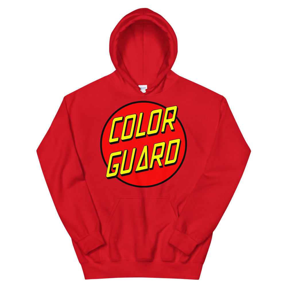 Color Cruz Unisex Hoodie-Marching Arts Merchandise-Red-S-Marching Arts Merchandise