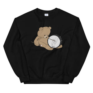 Teddy Bass Unisex Sweatshirt-Marching Arts Merchandise-Black-S-Marching Arts Merchandise