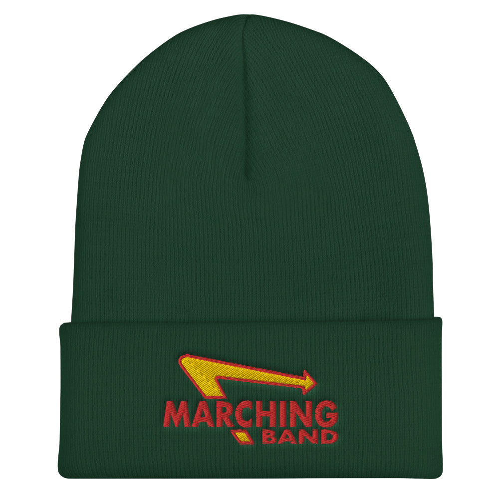 Marching Burgers Cuffed Beanie-Marching Arts Merchandise-Spruce-Marching Arts Merchandise