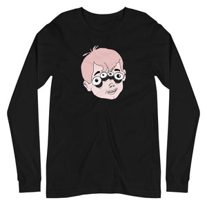 Four Eyed Tenor Percussion Unisex Long Sleeve Tee-Marching Arts Merchandise-Black-XS-Marching Arts Merchandise