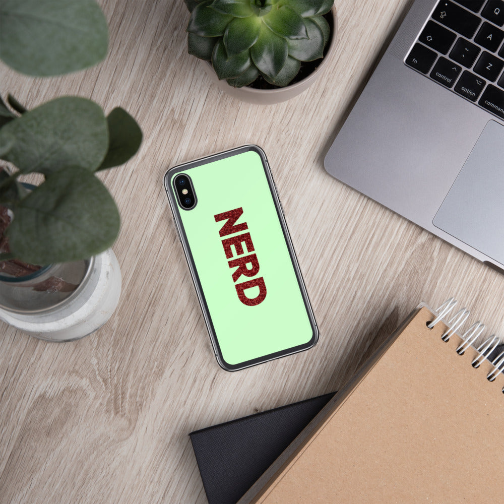 Nerd iPhone Case-Marching Arts Merchandise-Marching Arts Merchandise