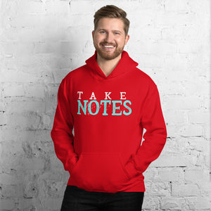 Take Notes Marching Band Unisex Hoodie-Marching Arts Merchandise-Marching Arts Merchandise
