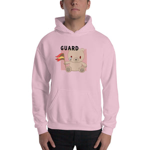 Teddy Flag Color Guard Unisex Hoodie-Marching Arts Merchandise-Marching Arts Merchandise