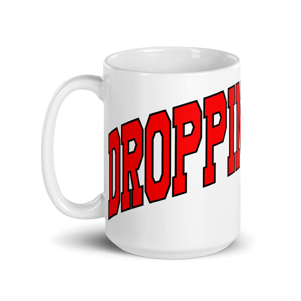 Dropping Sucks Mug-Marching Arts Merchandise-Marching Arts Merchandise