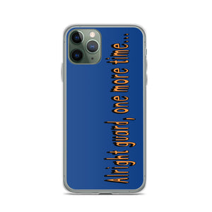 One More Time iPhone Case-Marching Arts Merchandise-iPhone 11 Pro-Marching Arts Merchandise