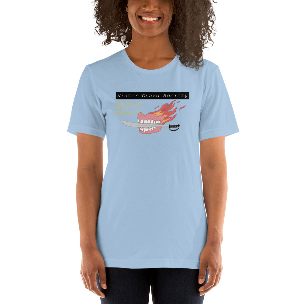 Winter Guard Saber Color Guard Short-Sleeve Unisex T-Shirt-Marching Arts Merchandise-Marching Arts Merchandise
