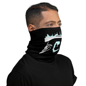 Rifle On Fire Neck Gaiter-Marching Arts Merchandise-Marching Arts Merchandise