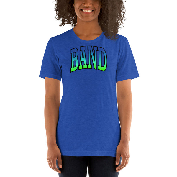 Ombre Band Unisex T-Shirt - Marching Arts Merchandise -  - Marching Arts Merchandise - Marching Arts Merchandise - band percussion color guard clothing accessories home goods