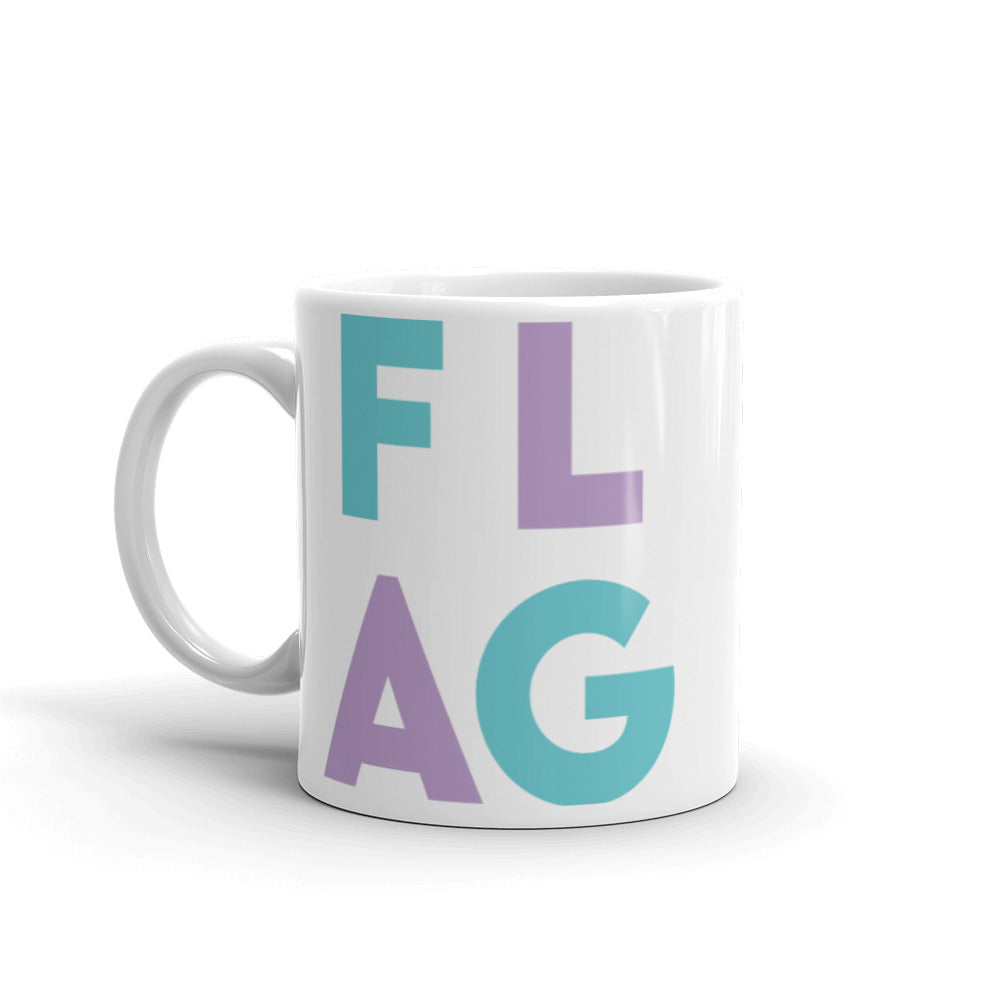 FLAG Mug-Marching Arts Merchandise-Marching Arts Merchandise