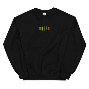 Retro Rifle Unisex Sweatshirt-Marching Arts Merchandise-Black-S-Marching Arts Merchandise